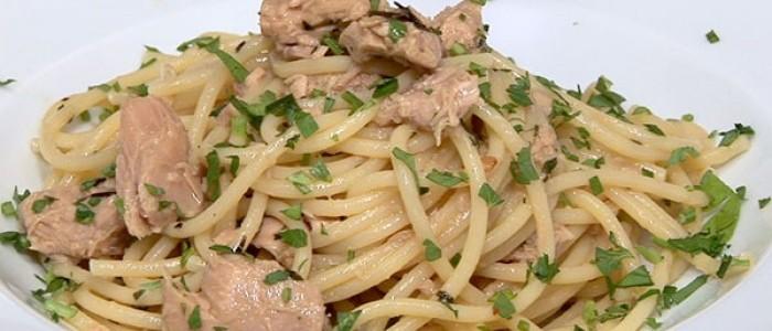 Spaghetti alla Ventresca di tonno